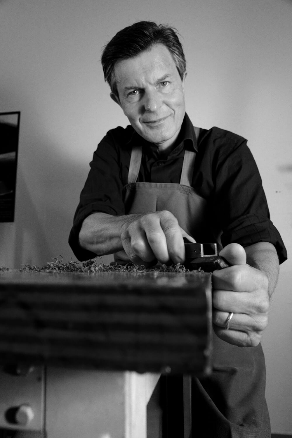 Vincent Tricou , Master Bow Maker, one of France's finest bow maker